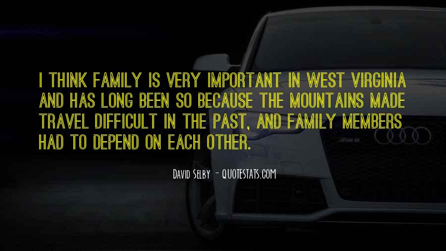 Quotes About Difficult Family #235358