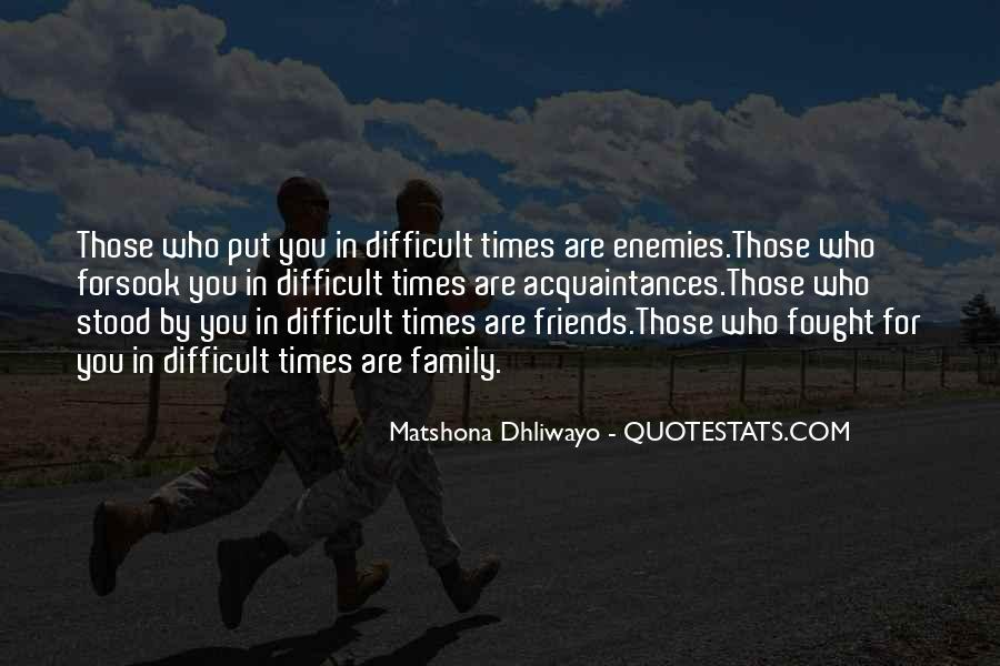 Quotes About Difficult Family #520051