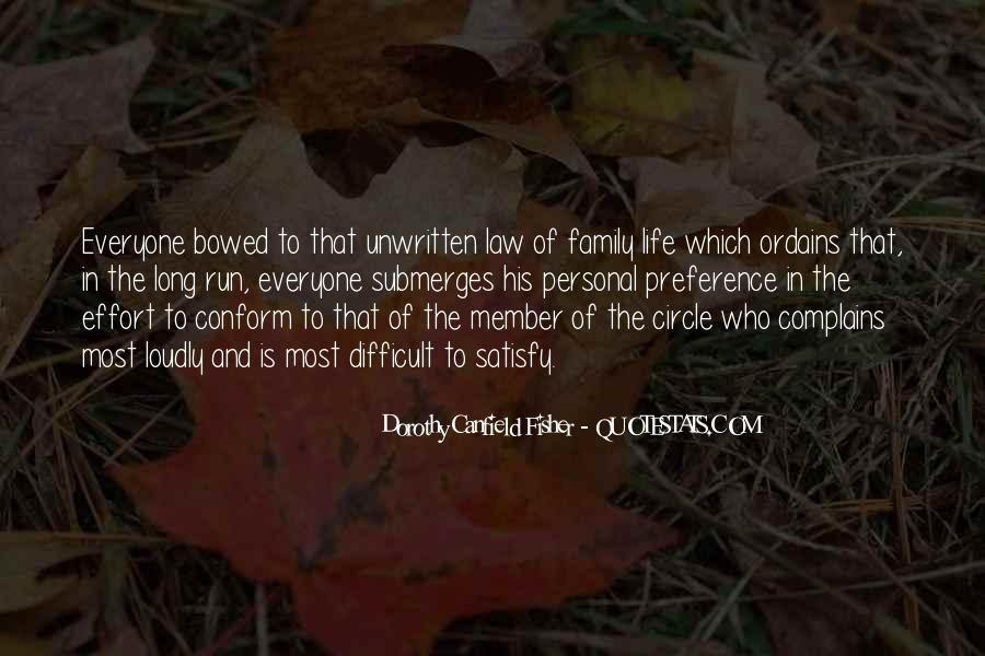 Quotes About Difficult Family #882743
