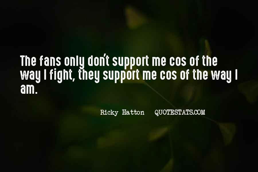 Hatton's Quotes #11803