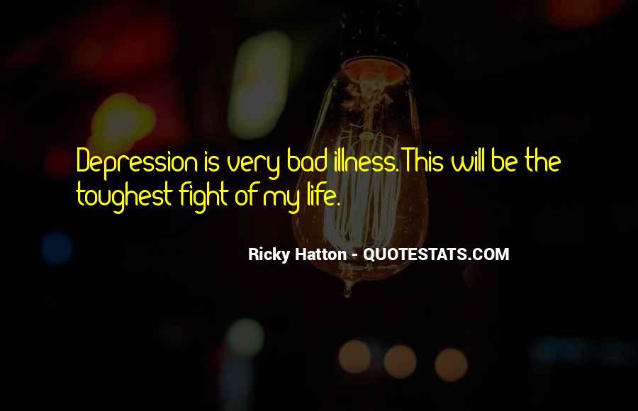 Hatton's Quotes #1269702