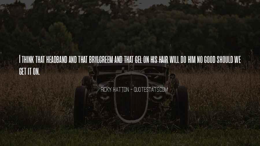 Hatton's Quotes #1447631