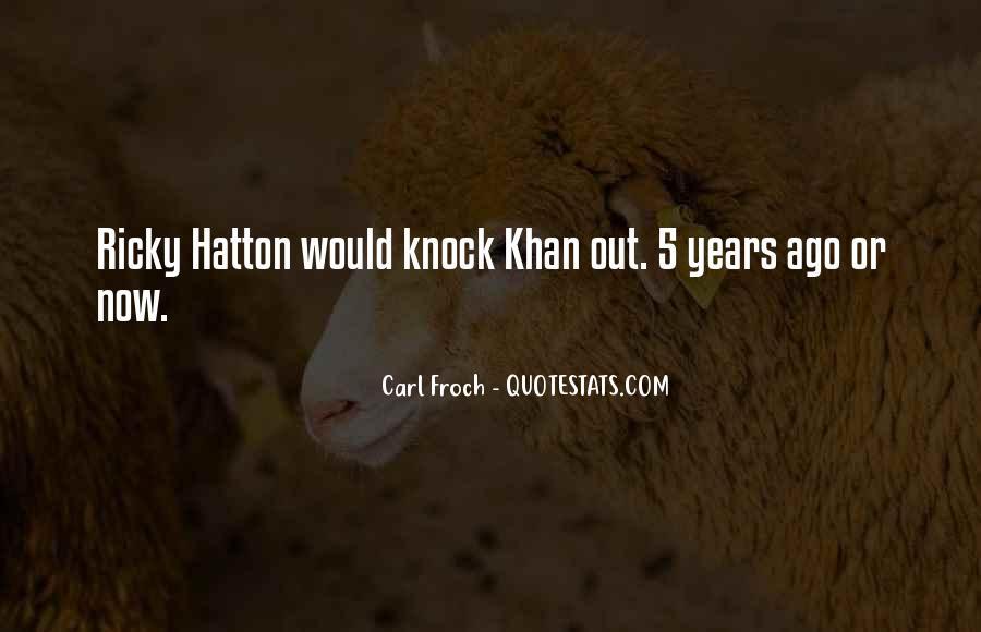 Hatton's Quotes #1471401