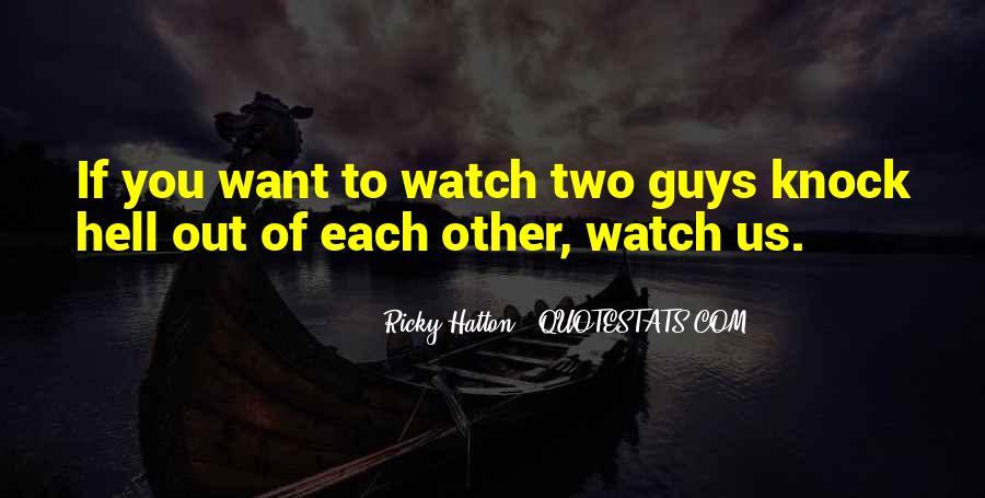 Hatton's Quotes #1627912