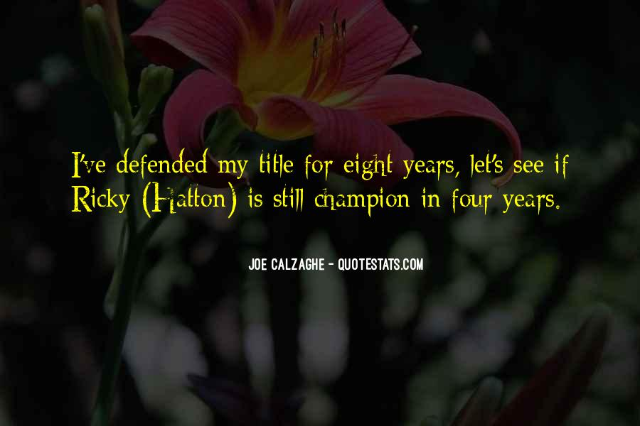 Hatton's Quotes #294944