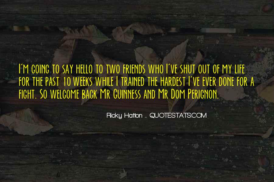 Hatton's Quotes #713884