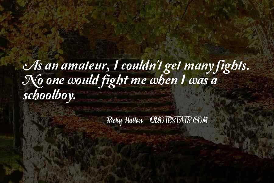 Hatton's Quotes #913697