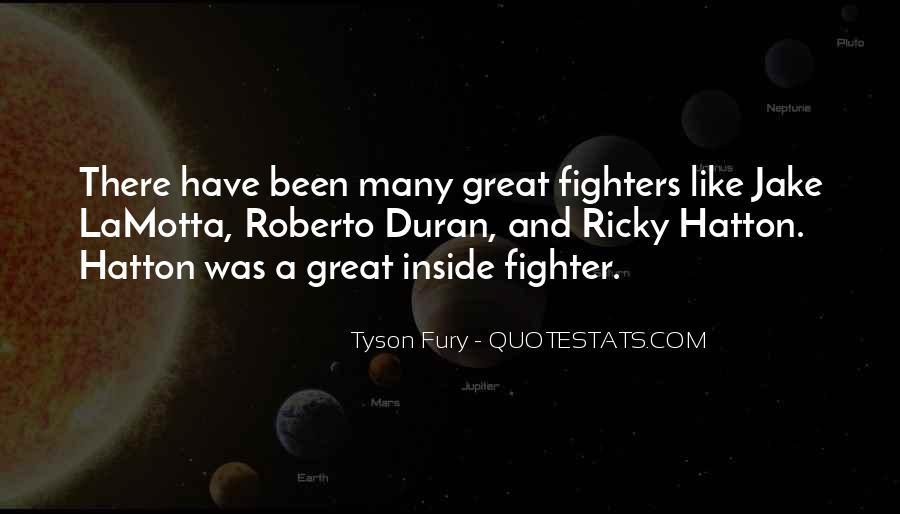 Hatton's Quotes #915259