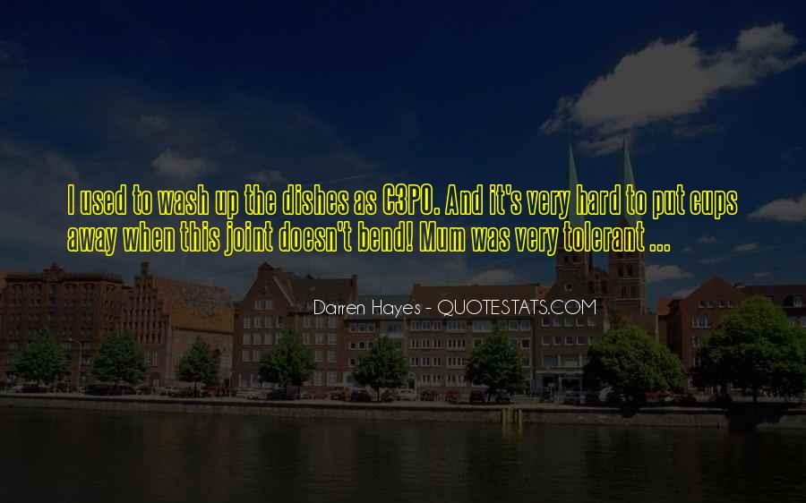 Hayes's Quotes #1029283