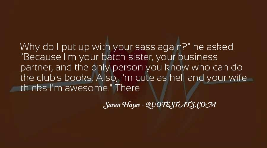 Hayes's Quotes #509704