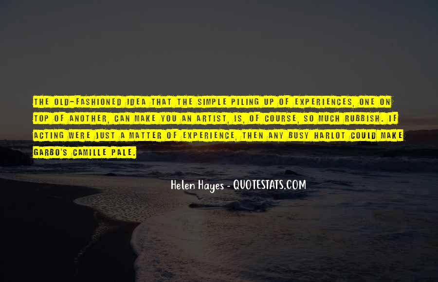 Hayes's Quotes #701117