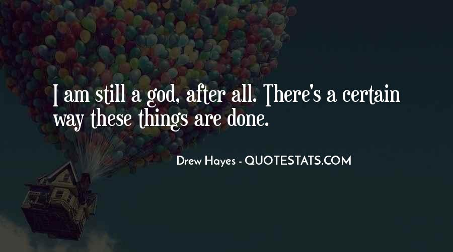 Hayes's Quotes #973406