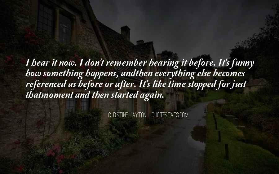 Hayton Quotes #610649
