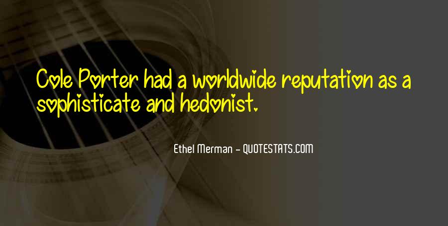Hedonist Quotes #1628739