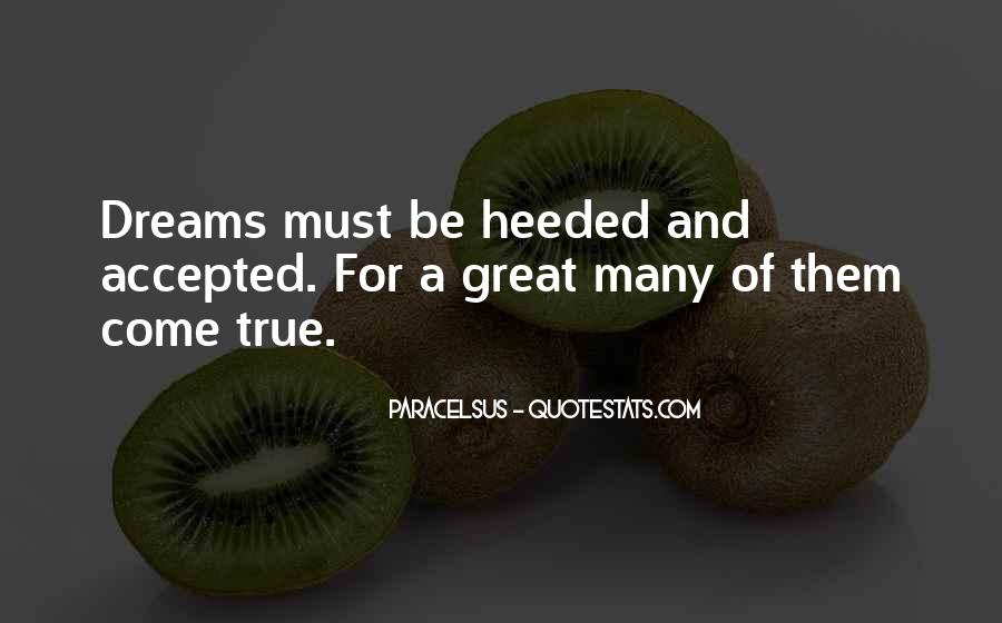 Heeded Quotes #1385645