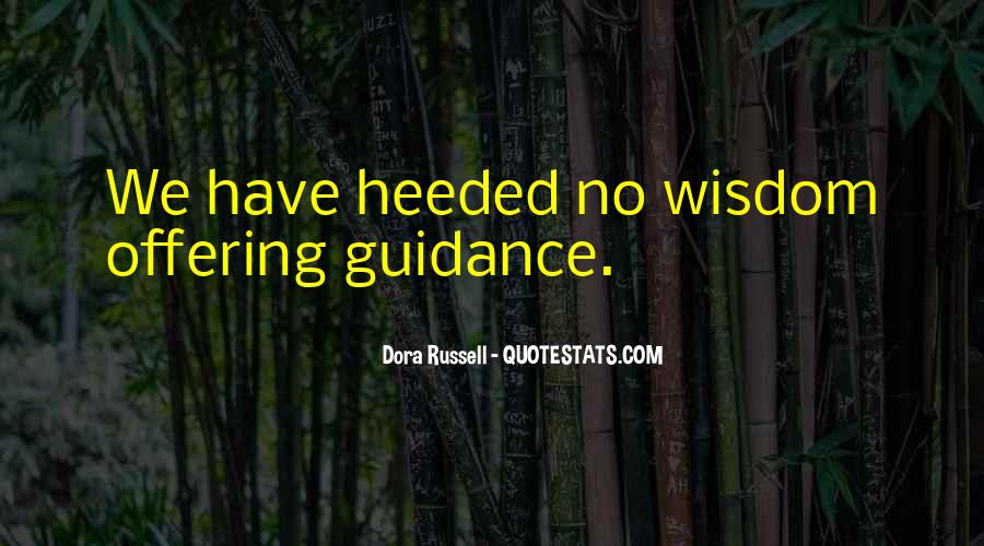 Heeded Quotes #1495172