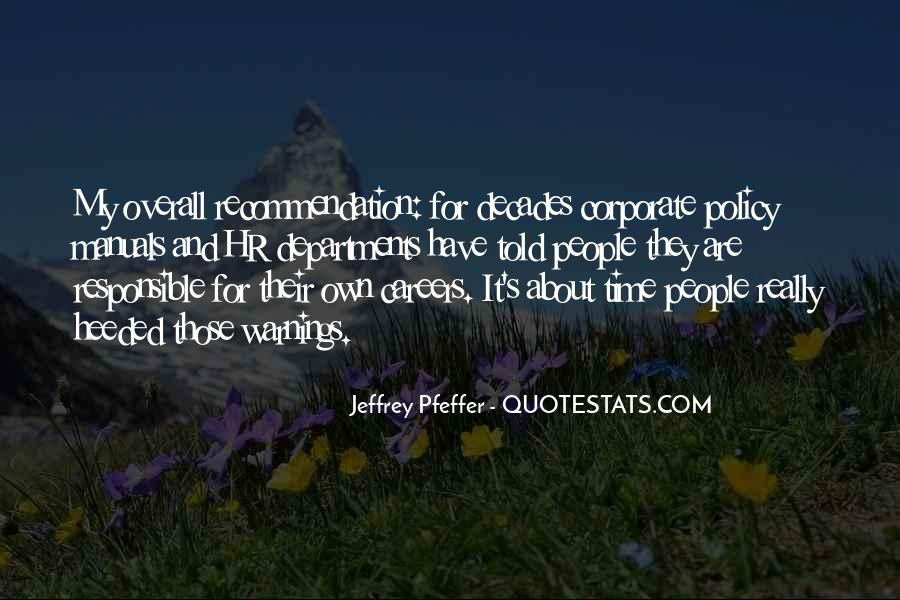 Heeded Quotes #313189