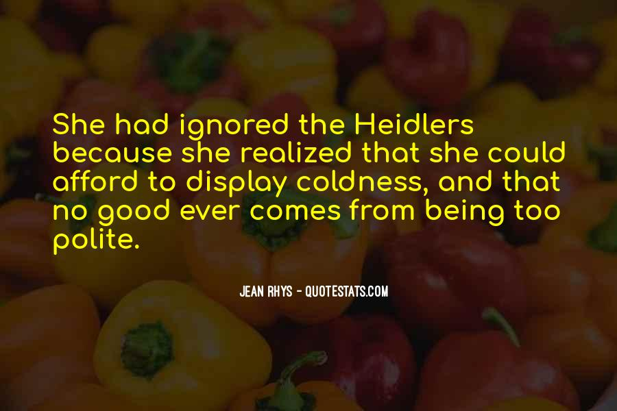 Heidlers Quotes #1734597