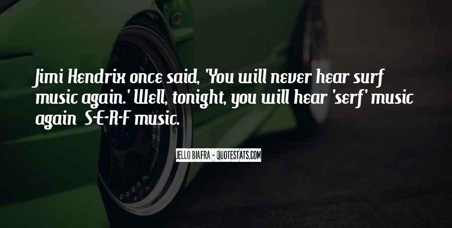 Hendrix's Quotes #1024015