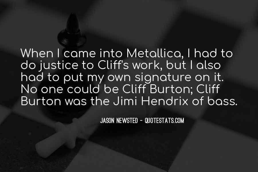 Hendrix's Quotes #1548079