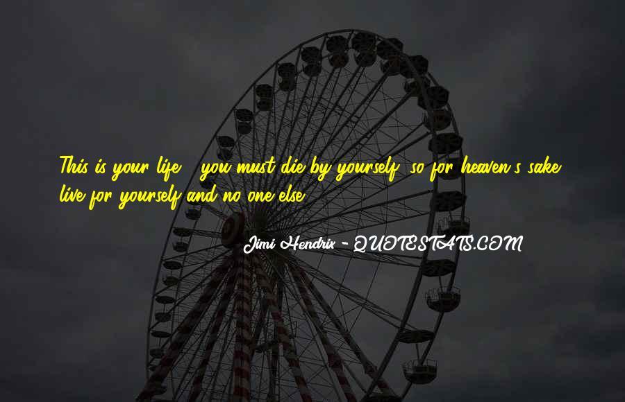 Hendrix's Quotes #1696932