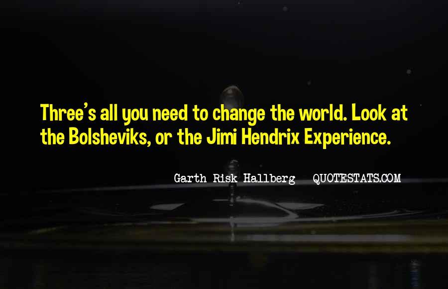 Hendrix's Quotes #217396