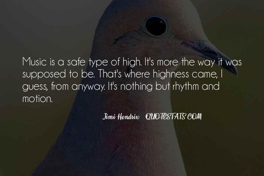 Hendrix's Quotes #218381