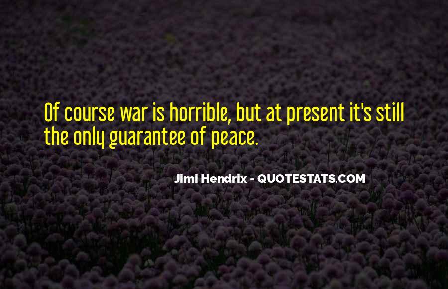 Hendrix's Quotes #746480