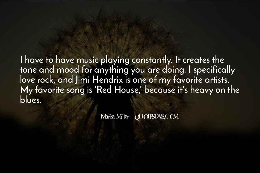 Hendrix's Quotes #924813