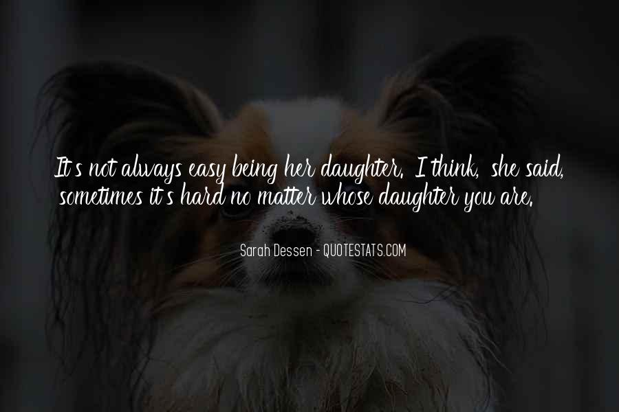 Her'daughter Quotes #68481