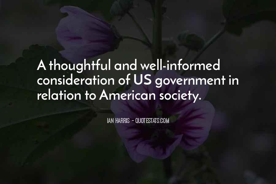 Quotes About Society And Government #10250