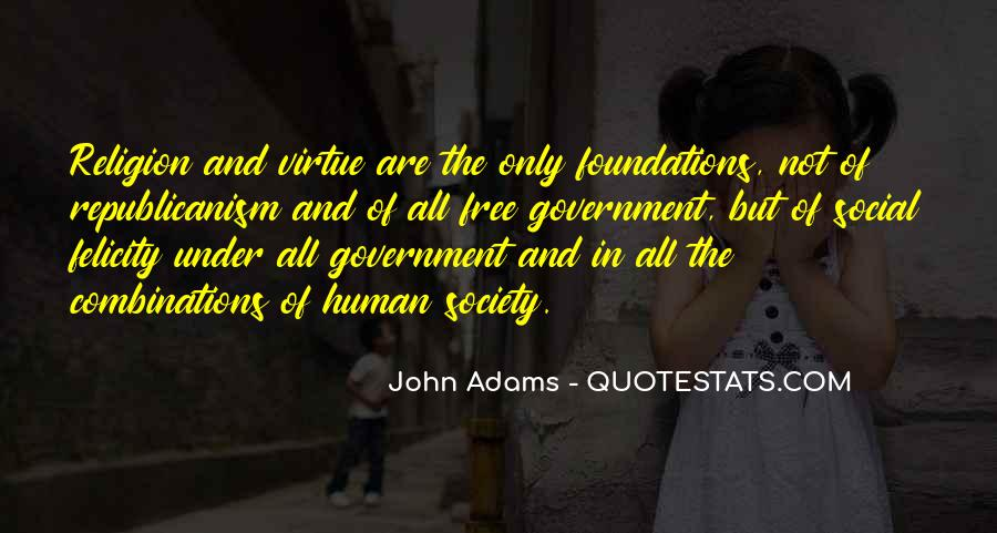 Quotes About Society And Government #161435