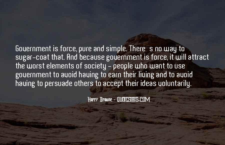 Quotes About Society And Government #174180