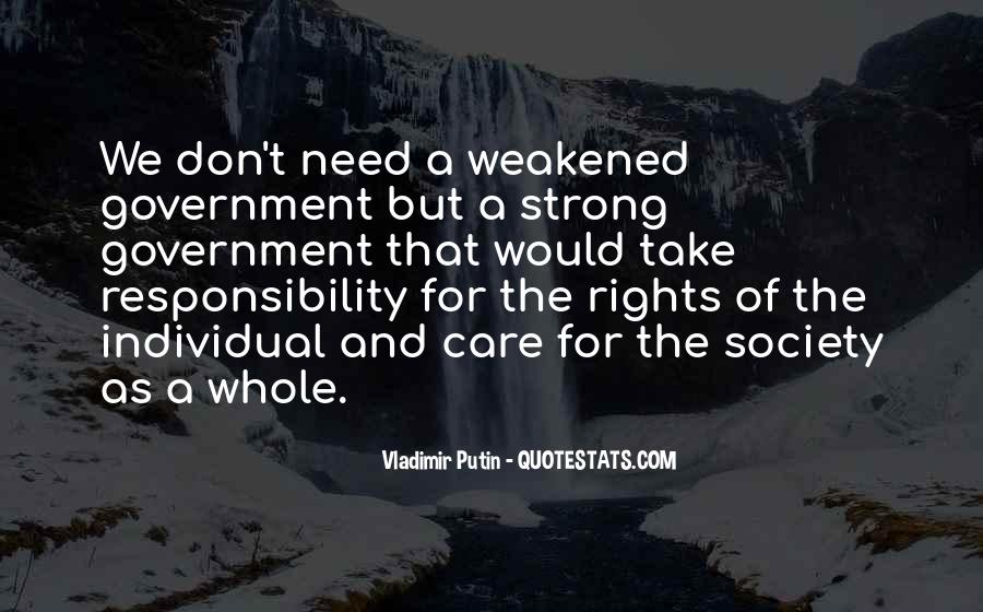 Quotes About Society And Government #207912
