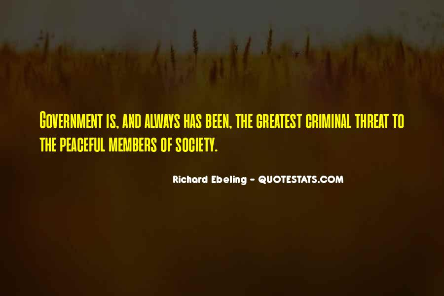 Quotes About Society And Government #21187