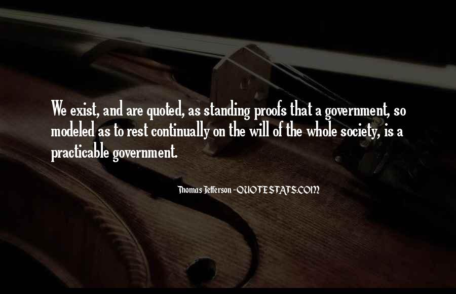 Quotes About Society And Government #233042