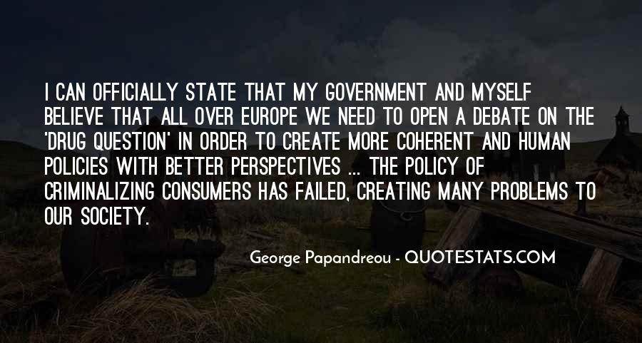 Quotes About Society And Government #236930
