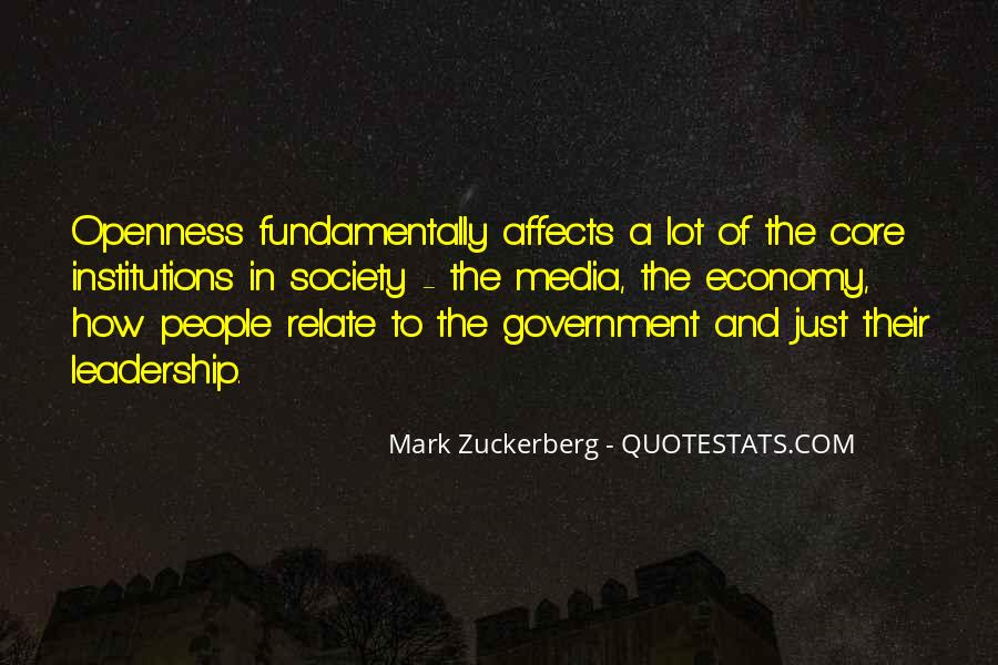 Quotes About Society And Government #36923