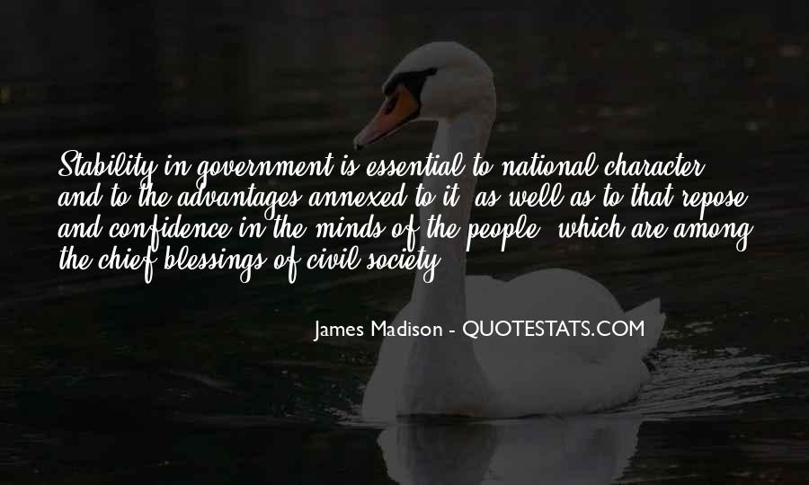 Quotes About Society And Government #500564
