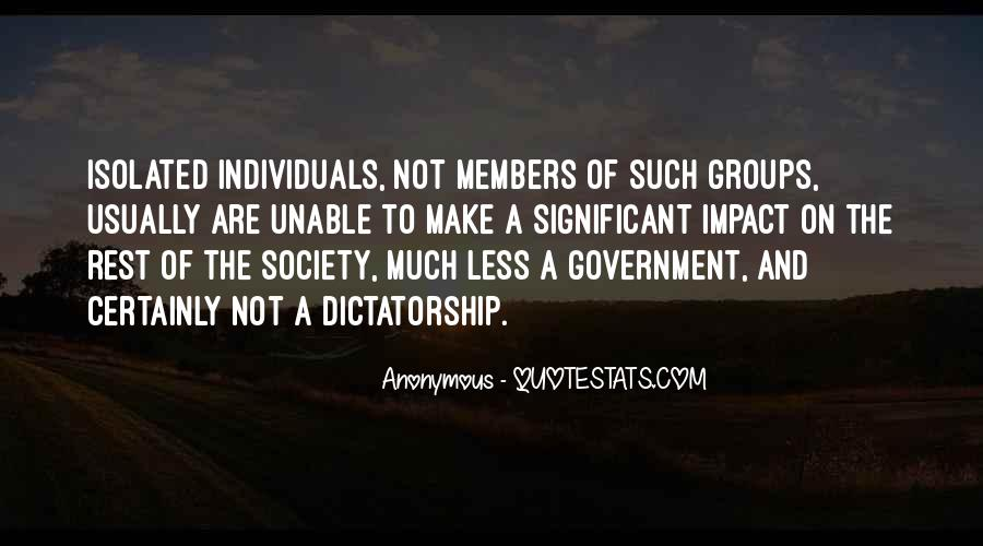 Quotes About Society And Government #621464