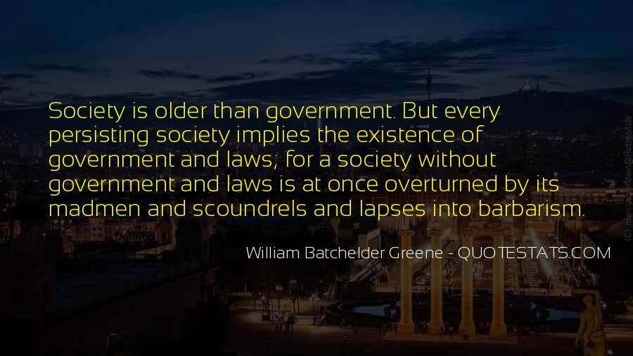 Quotes About Society And Government #636549