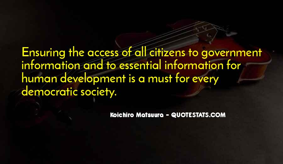 Quotes About Society And Government #671053