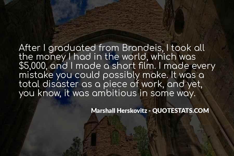 Herskovitz Quotes #1465914