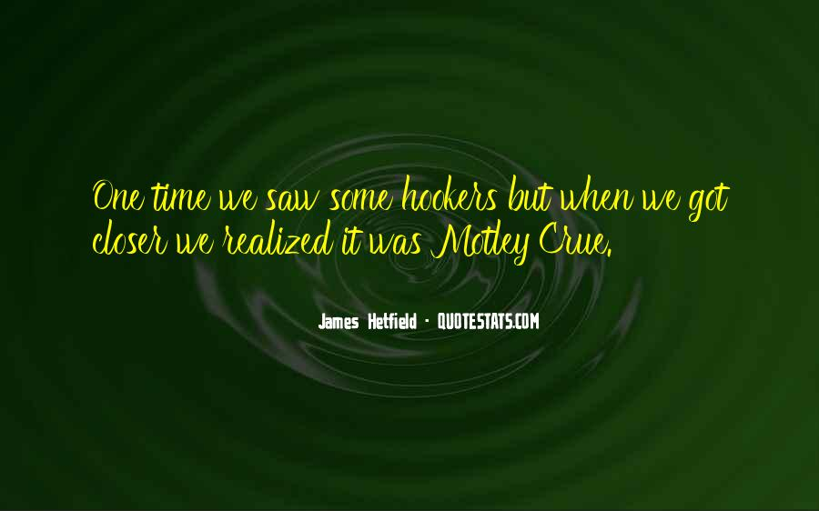 Hetfield Quotes #153406