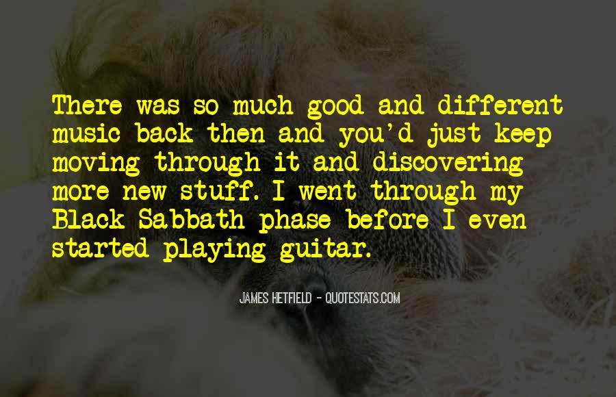 Hetfield Quotes #1669550