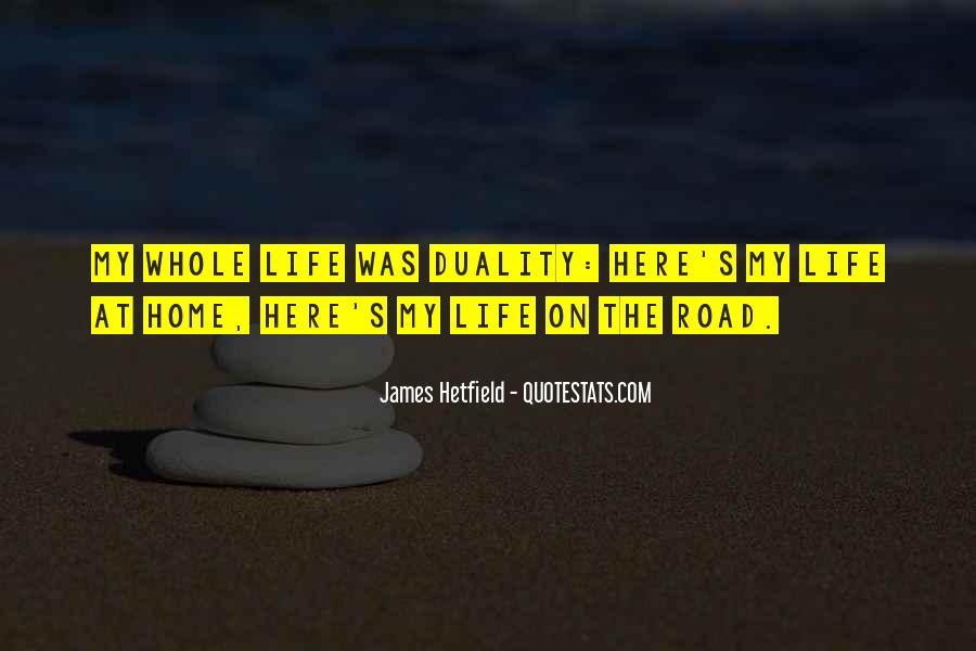 Hetfield Quotes #180962
