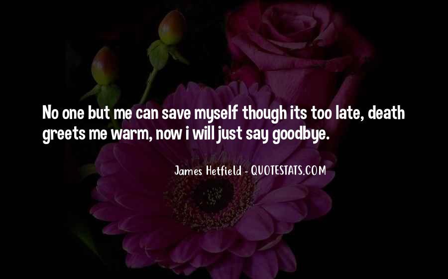 Hetfield Quotes #316097