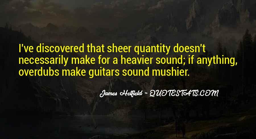 Hetfield Quotes #53930