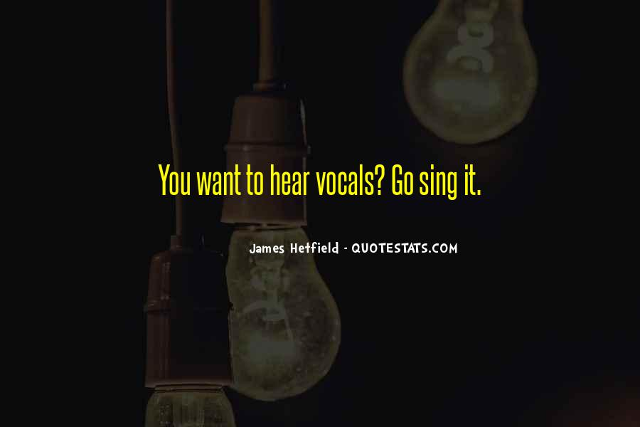 Hetfield Quotes #56912