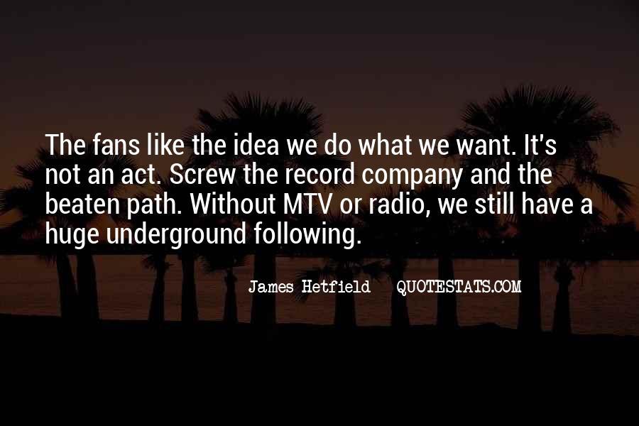 Hetfield Quotes #626087